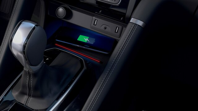 Carregador por Indução - Renault KOLEOS