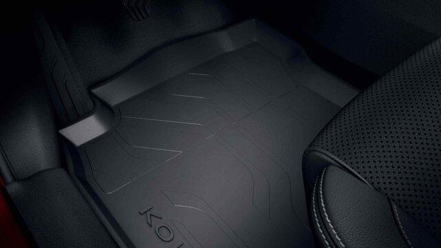 Dywaniki podłogowe gumowe - Renault KOLEOS