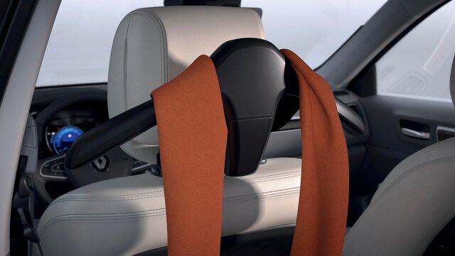 Jackenhalter zur Befestigung an der Kopfstütze– Renault KOLEOS
