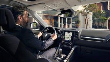 Kožený interiér vozu Renault KOLEOS INITIALE PARIS