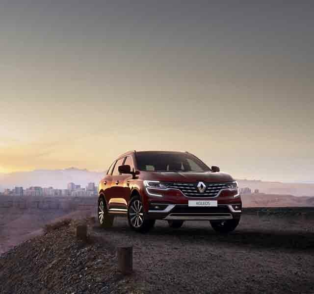 Nuevo Renault KOLEOS SUV 4x4 familiar