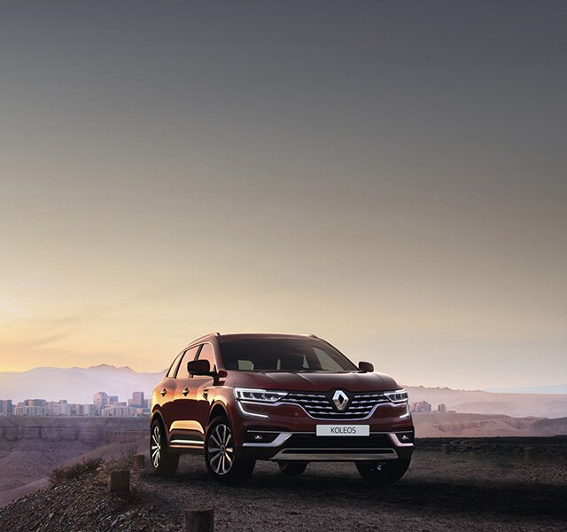 All-new Renault KOLEOS 4x4 family SUV