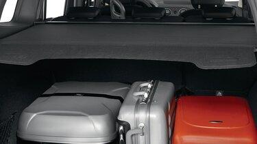 Renault LODGY - Висувна задня полиця багажника