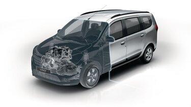 Renault LODGY - Двигуни