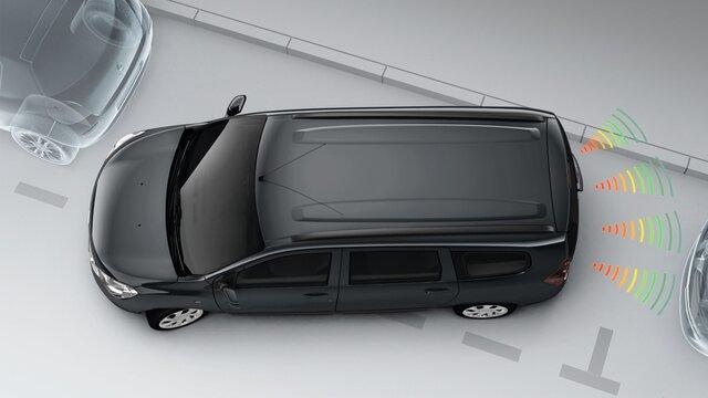 Renault LODGY - Паркувальний радар