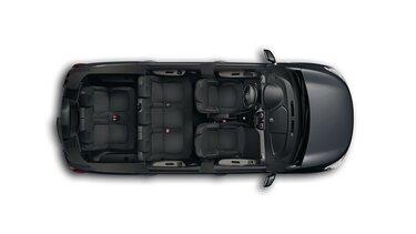 Renault LODGY - Вигляд зверху