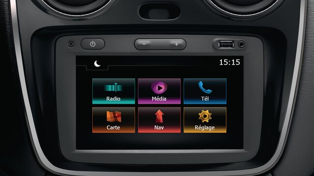 Renault LODGY - Media Nav
