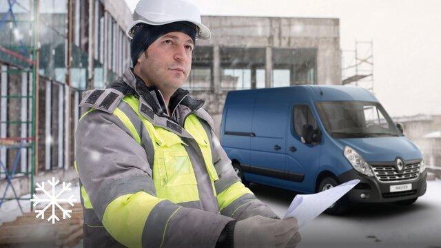 Renault - MASTER Z.E. Verbonden services