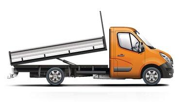 Renault MASTER Open Transport kiepbak