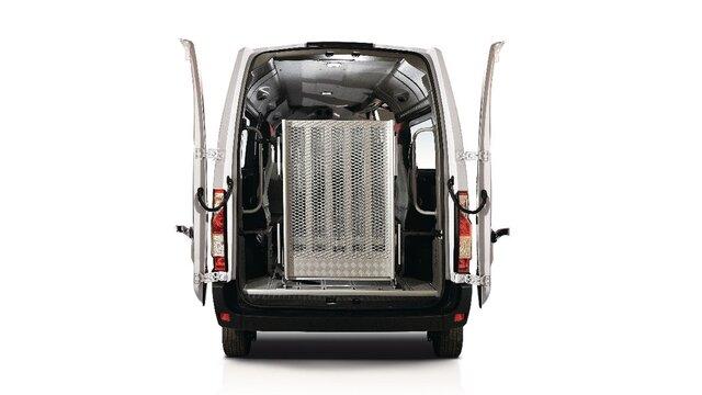 Porta posteriore a 270° Renault MASTER