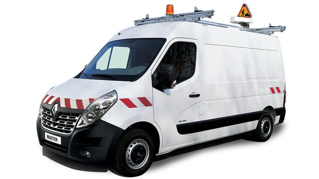 Renault MASTER markering