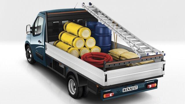 Renault MASTER Open Transport bouwwerkzaamheden