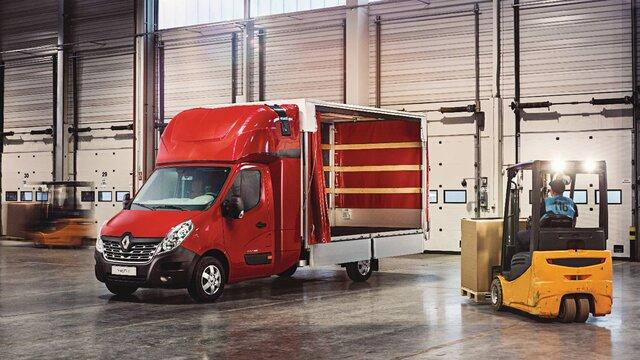 Renault MASTER Open Transport afmetingen en motoren