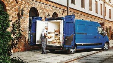 Trasporto merci Renault MASTER