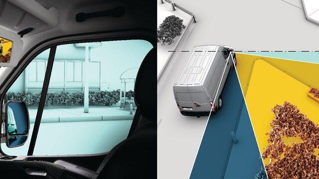 Wideview mirror Renault MASTER