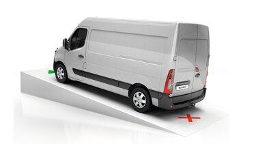 Renault MASTER - Ayuda de arranque en pendiente