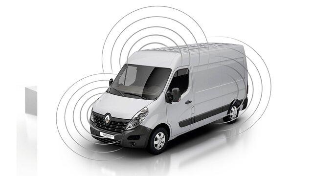 Renault MASTER - Alarma y seguros reforzados