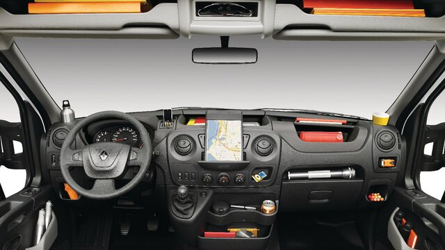 Renault MASTER Open Transport dashboard