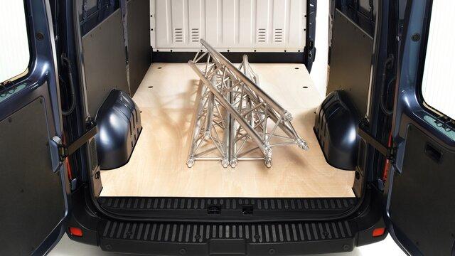 Renault MASTER Z.E rutschfester Holzboden