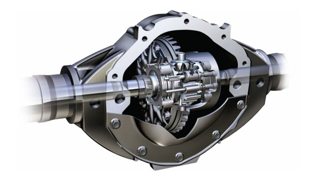 Differential locking