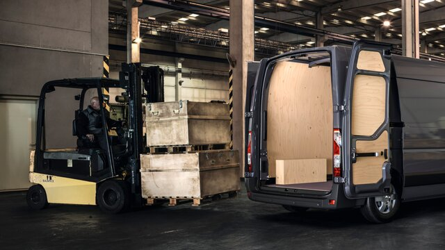 Renault Trafic - Construction