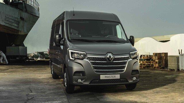 Renault e-guide - MASTER gris sur l'autoroute