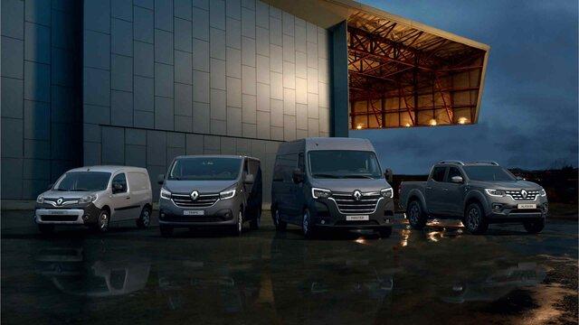 Bedrijfsvoertuigen-gamma van Renault