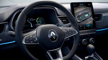 Športni terenec Renault Megane Conquest E-TECH hibrid – multimedijski sistem