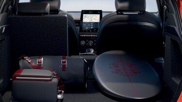 Prostornina prtljažnika – športni SUV Renault Megane Conquest E-TECH hibrid
