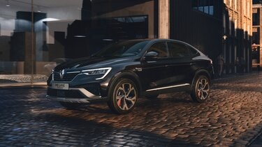 Športni SUV MEGANE Conquest – zunanjost – bočna stran – Renault