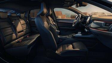 MEGANE Conquest – sprednji in zadnji sedeži – Renault
