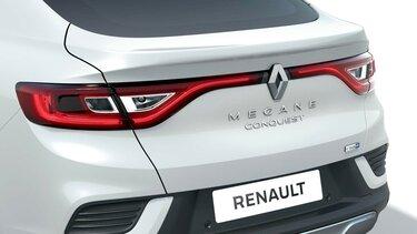 Spojler na prtljažniku – dodatna oprema za športni terenec Renault Megane Conquest
