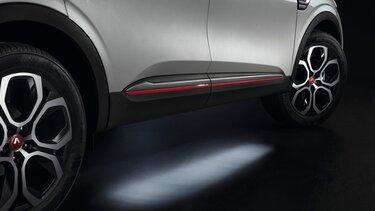Osvetlitev podvozja ob dostopu – dodatna oprema za športni terenec Renault Megane Conquest