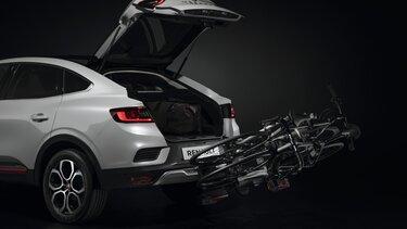 Vlečni priključek in nosilec za kolesa – dodatna oprema za športni terenec Renault Megane Conquest