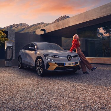 All-new Renault Megane E-Tech 100% electric - electric motor power