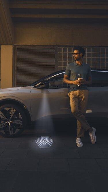 Nouvelle Renault Megane E-Tech 100% électrique - éclairage de sol