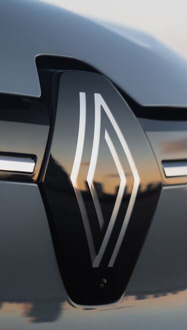 All-new Renault Megane E-Tech 100% electric - new Renault logo