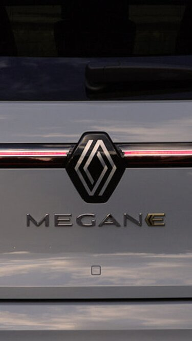 All-new Renault Megane E-Tech 100% electric - new badge