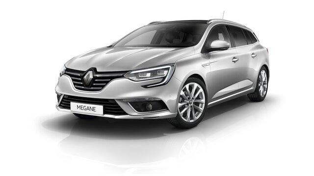 Renault MEGANE Estate de culoare gri 3d