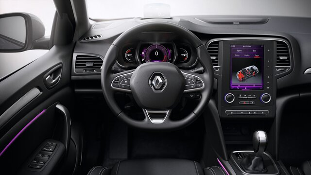 Renault MEGANE Grandtour - kormány
