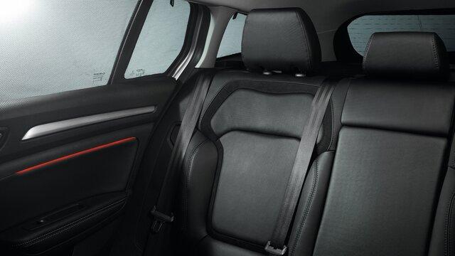 Renault MEGANE Grandtour tylne siedzenia pasażerów