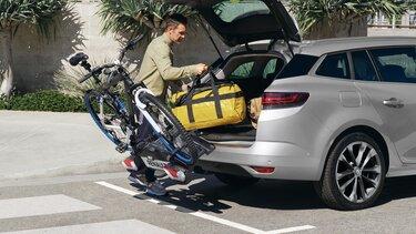 Der neue MEGANE Grandtour Anhängerkupplung und Anhängerkupplung mit Fahrradträger