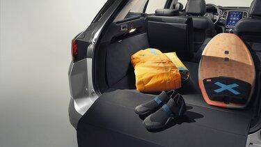 Der neue MEGANE Grandtour Kofferraumschutz