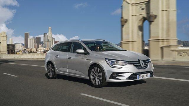 Der Neue Renault MEGANE Grandtour von aussen