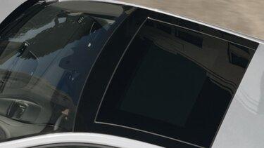 Střešní okno v interiéru vozu Nový MEGANE Grandtour