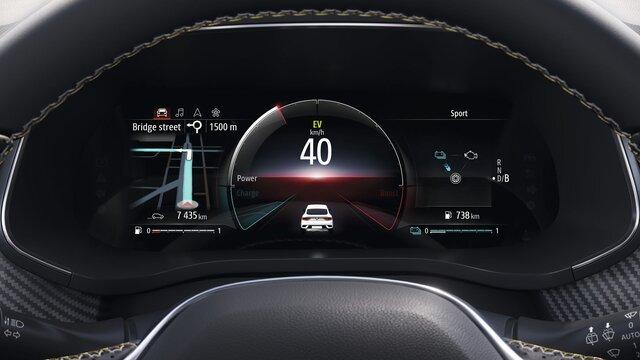 Renault MEGANE Grandtour E-TECH – EASY LINK Multimediasystem