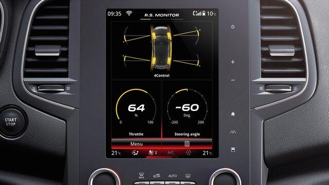 Renault - MEGANE R.S. - Wyposażenie