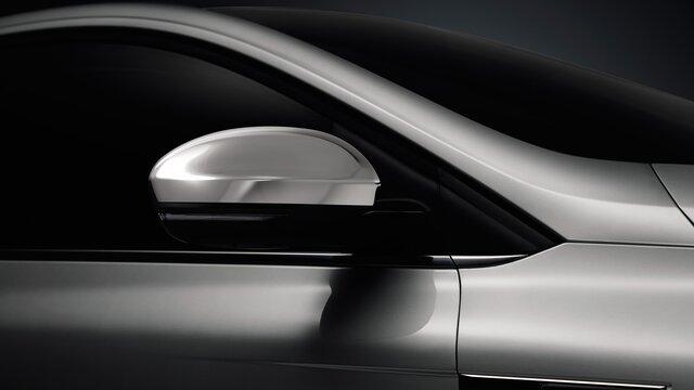 Renault - Mégane R.S. - Carcasa de retrovisor cromada