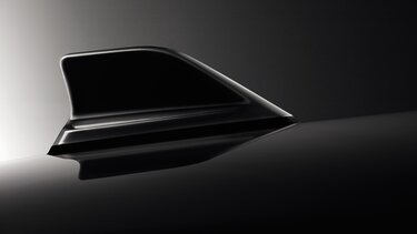 Renault MEGANE – Haifischantenne Platinum Grey