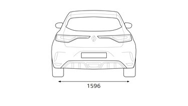 Renault – MEGANE R.S. – Méretek